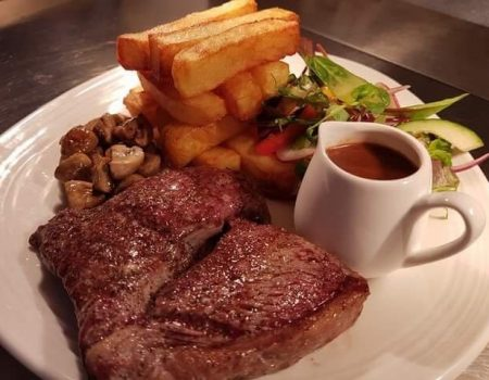 Steak Night at the Wheatsheaf